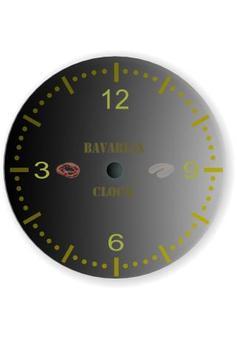 Bavarian Clock++ with widgets poster