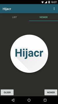 Hijacr screenshot 1
