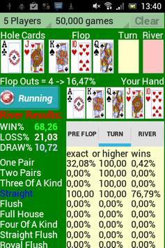 Poker Star Odds Calculator poster