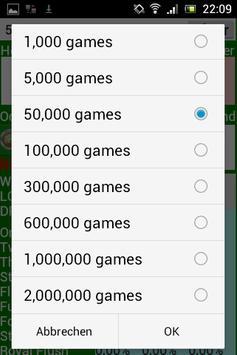Poker Star Odds Calculator apk screenshot