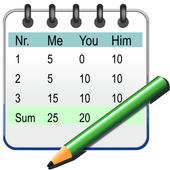 Simple Score Sheet icon