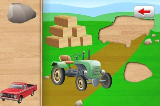 Car Puzzle for Toddlers poster