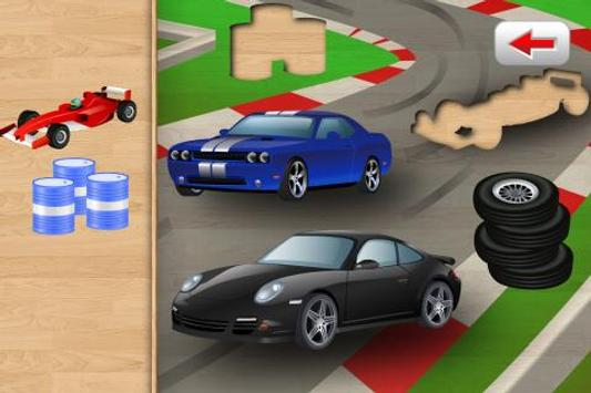 Car Puzzle for Toddlers screenshot 1