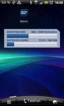 METROMOBIL Verbrauchsübersicht screenshot 2