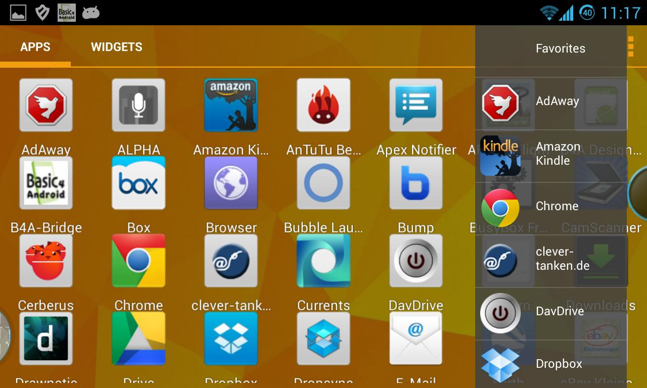 windows 7 launcher apk xda
