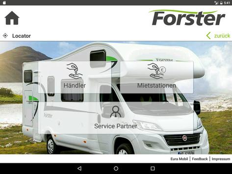 Forster Reisemobile apk screenshot