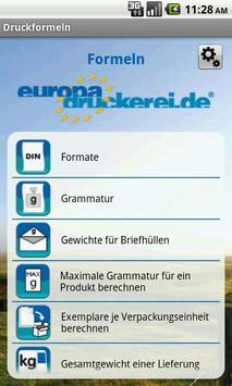 Print Formulas poster