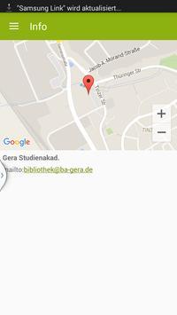 BibApp DHGE screenshot 3