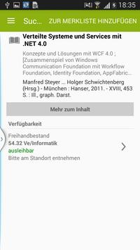 BibApp DHGE screenshot 1