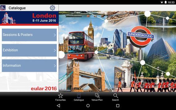 EULAR 2016 apk screenshot