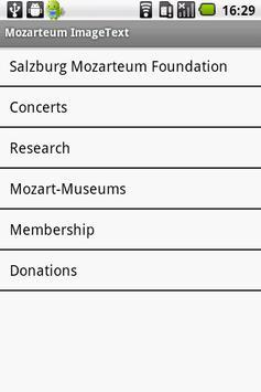 Mozarteum InfoGuide poster