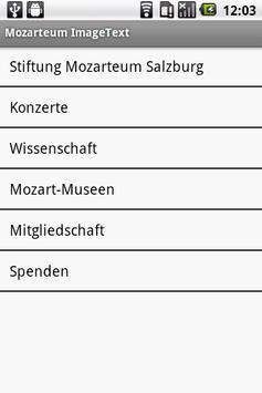 Mozarteum InfoGuide apk screenshot