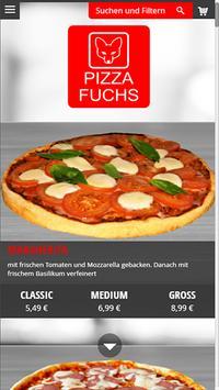 Pizza Fuchs poster