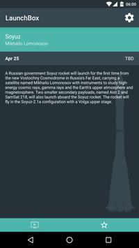 LaunchBox - Launch Schedule screenshot 2