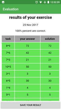 Exercise Calculator — Improve calculation skills screenshot 3