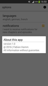 OP Release Notificator&Viewer apk screenshot