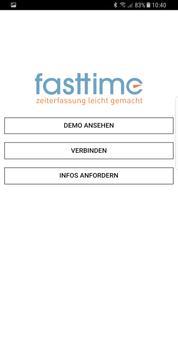 fasttime - Zeiterfassung 3.0 apk screenshot