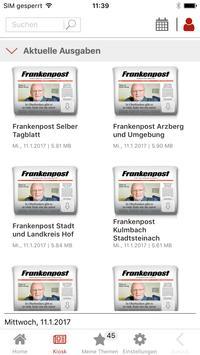 Frankenpost screenshot 1
