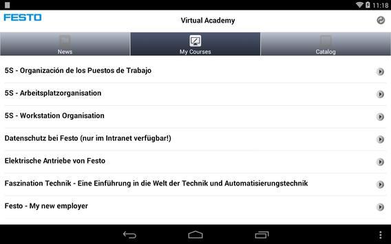 Festo Virtual Academy apk screenshot