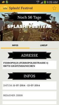 Festivalguide screenshot 1