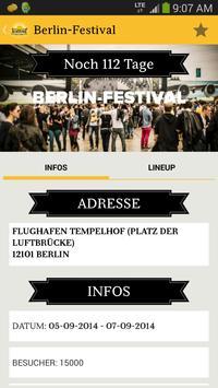 Festivalguide screenshot 2