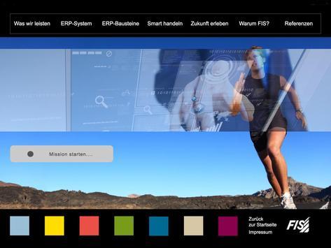 FIS Lösungscockpit screenshot 3