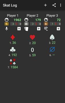 Skat Log apk screenshot