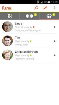 Flunx - Secure Matching & Chat apk screenshot