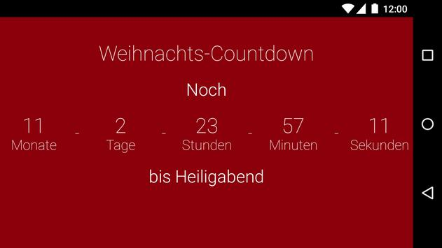 weihnachten countdown apk weihnachten countdown apk apkpure. Black Bedroom Furniture Sets. Home Design Ideas
