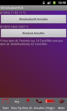 Kino-App24 Kinoauskunft24.de apk screenshot