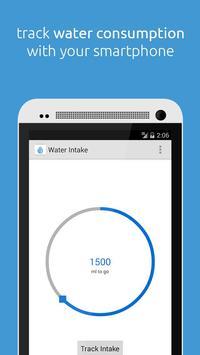 Water Intake poster