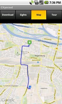 Cityscout apk screenshot