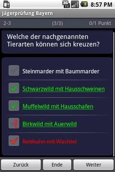 German Hunter's Exam Training apk screenshot