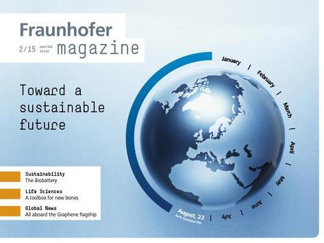 Fraunhofer Magazine – English poster
