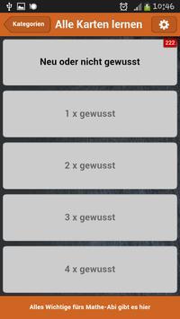 Mathe-Abi Niedersachsen screenshot 5