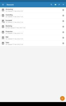 FREICON Secure Data Space V4 apk screenshot