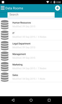 FREICON Secure Data Space apk screenshot