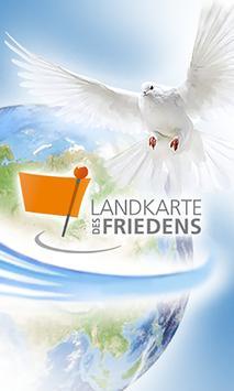 Landkarte des Friedens poster