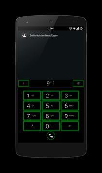 Dark Green CM 12 Theme apk screenshot