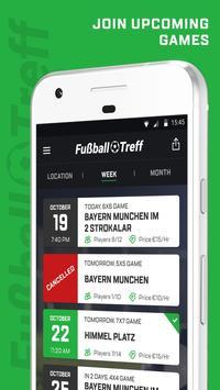 Fussball Treff: Fussball Spiele in deiner Nähe poster