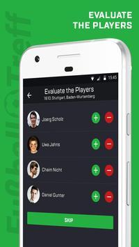 Fussball Treff: Fussball Spiele in deiner Nähe apk screenshot