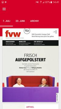 fvw Magazin poster
