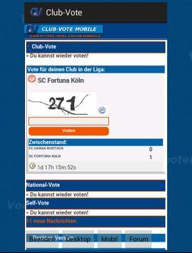 Club-Vote apk screenshot