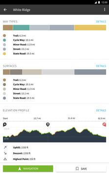 Komoot — Cycling, Hiking & Mountain Biking Maps apk screenshot