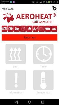 AEROHEAT CALL GSM poster