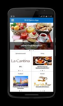 R+V-Gastro-App poster