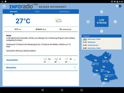 Inforadio apk screenshot
