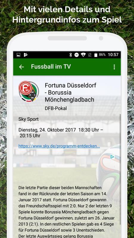 fussball live app