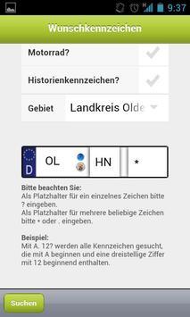 KDO-Wunschkennzeichen screenshot 1