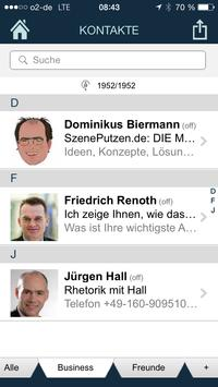 KeepContacts für XING apk screenshot